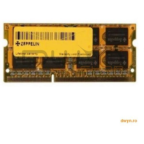 Zeppelin Sodimm Ddr3/1333 2048m Zeppelin (life Time  Dual Channel)
