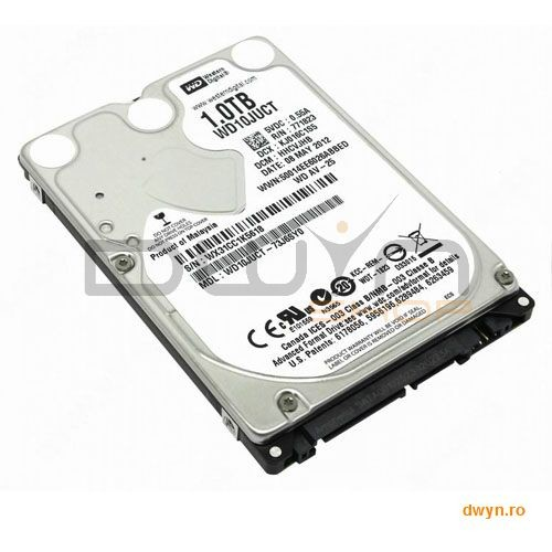 Western Digital Wd Hdd Av-25 (2.5  1tb  16mb  5400 Rpm  Sata 3 Gb/s)