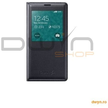 Samsung Galaxy S5 G900 S-view Cover Charcoal Black