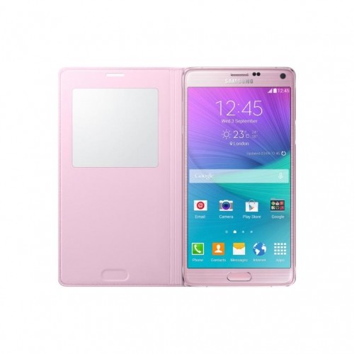 Samsung Galaxy Note 4 S-view Cover Light Pink Ef-c