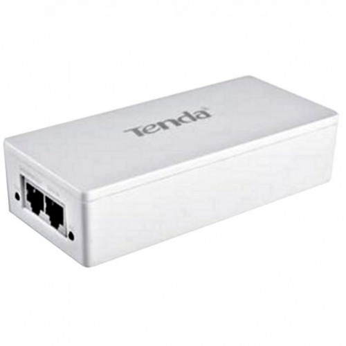 Tenda Poe (power Over Ethernet) Injector  Ieee 802.3at Compatibil  Carcasa Plastic  Plug & Play Tenda poe