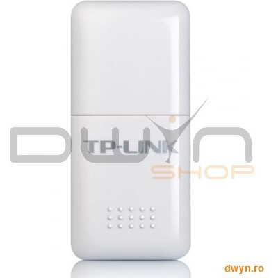 Tp-link Placa Retea Mini Wireless Usb 150mbps Lite-n  Ralink Chipset  1t1r  2.4ghz  Suports Sony Psp