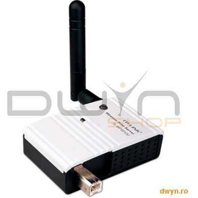 Tp-link Print Server Wireless 1x Usb2.0 Port  Antena Detasabila