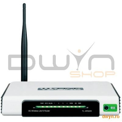 Tp-link Router Wireless 3g 150mbps  Compatibil Umt