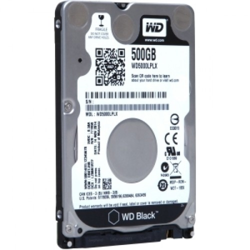 Western Digital Hdd Intern Notebook Wd 2.5  500gb  Black  Sata3  7200rpm  32mb  W/ Advformat [wd5000lplx]