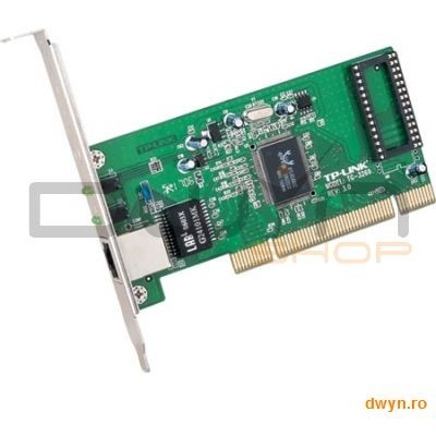 Tp-link Tp-link 32bit Gigabit Pci Networks Interface Card  Realtek Rtl8169sc  10/100/1000mbps Auto-negotiati