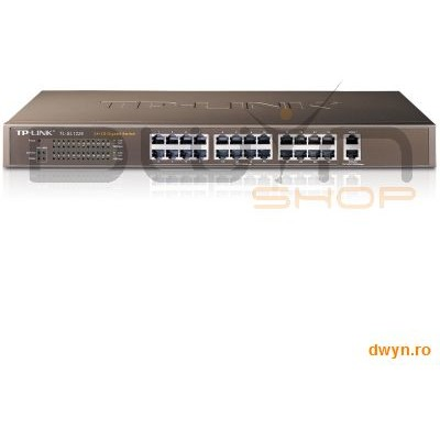 Tp-link Switch 24 Port-uri 10/100 + 2 Port-uri 10/