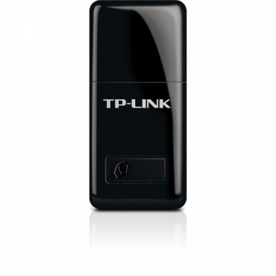 Tp-link Placa Retea Wireless Usb 300mbps 802.11n Draft 2.0  2.4ghz  Mini