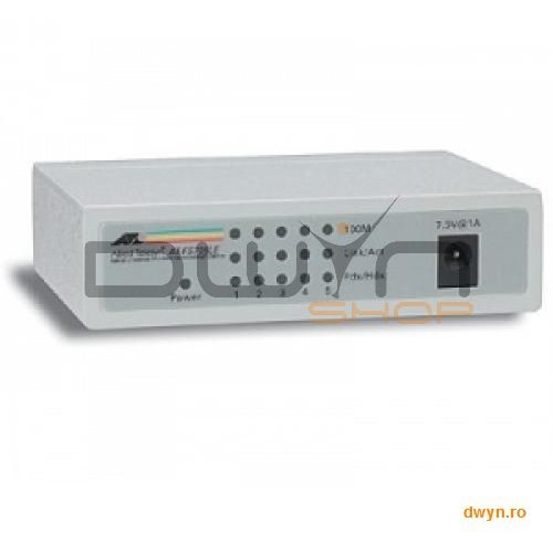 Allied Telesis Allied Telesis Switch Fs700 Series  5 Port 10/100mbps Unmanaged Switch With Ext P/s No Mdi/mdix On