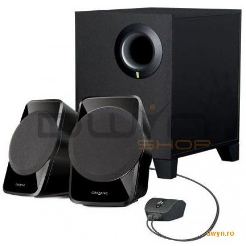 Creative Boxe Creative 2.1 inspire A120 Black  Rms: Subwoofer 4w  2ch. 2.5w