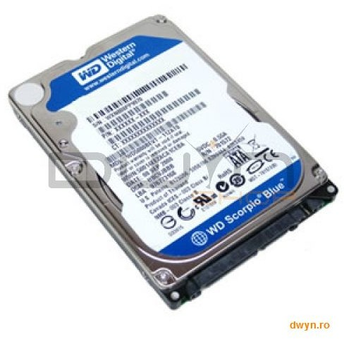 Western Digital Hdd Notebook 2.5 750gb 5400rpm 8m Sata3 Wd