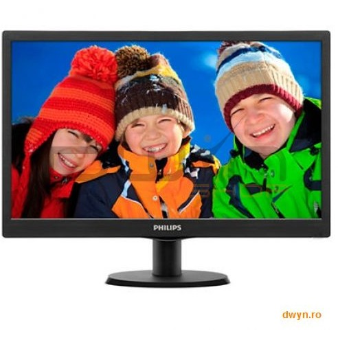 Philips 19.5 Philips Led 203v5lsb26/10  1600x900  5 Ms  200cd/mp  90/50  Contrast 600:1 (sc 10.000.000:1)