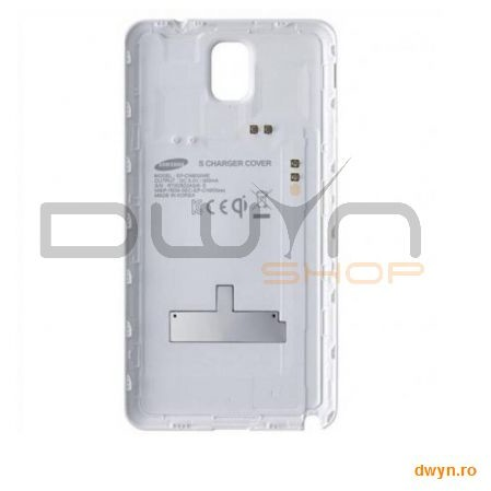 Samsung Galaxy Note 3 N9005 S Charger Cover White