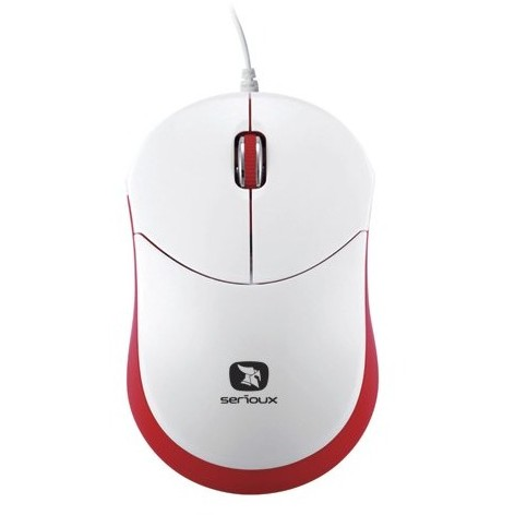 Serioux Mouse Serioux Rainbow 680 Red Usb