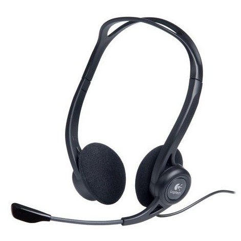 Logitech Casti Logitech Over-head Pc Headset 960 U