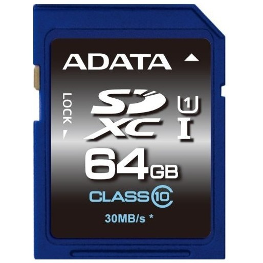 Adata Adata Premier Sdxc Uhs-i U1 64gb (video Full
