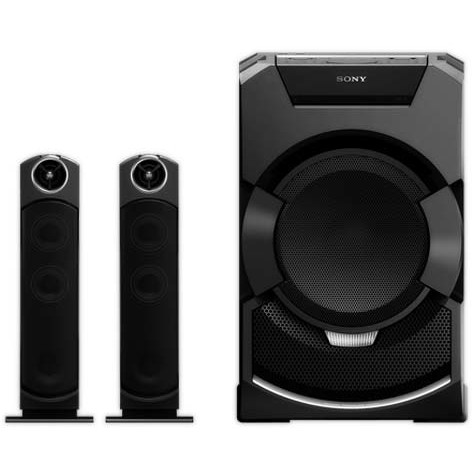 Sony MHCGT5D Sistem Audio Sony, 2400W, Bluetooth, NFC, Party Chain, Song Pal, Tuner FM