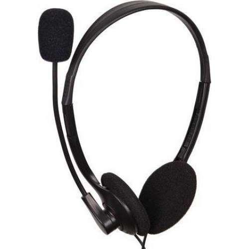 Gembird Gembird Microphone & Stereo Headphones Mhs-123 With Volume Control  Black Color