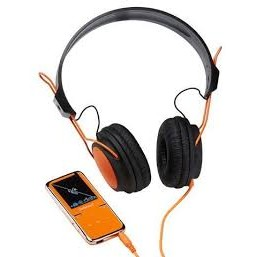 Intenso Intenso Mp4 Player 8gb Video Scooter Lcd 1 8 Orange + Headphones