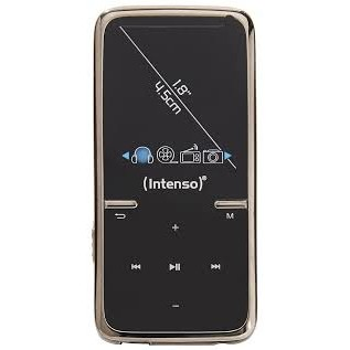 Intenso Mp4 Player Intenso 8gb Video Scooter Lcd 1 8 Negru