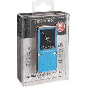 Intenso Mp4 Player Intenso 8gb Video Scooter Lcd 1 8 Albastru