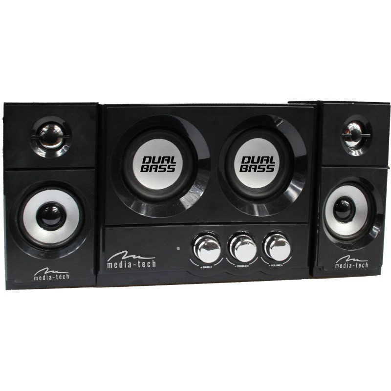 Mediatech Boxe Media-tech Soundrave 2.2 Dualbass