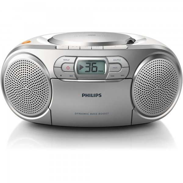 Philips Philips Microsistem Audio Philips Az127/12  2w  Cd+caseta