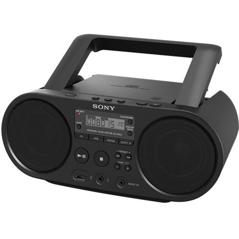 Sony Radio-cd Portabil Sony Zs-ps50 Cd Boombox  Negru