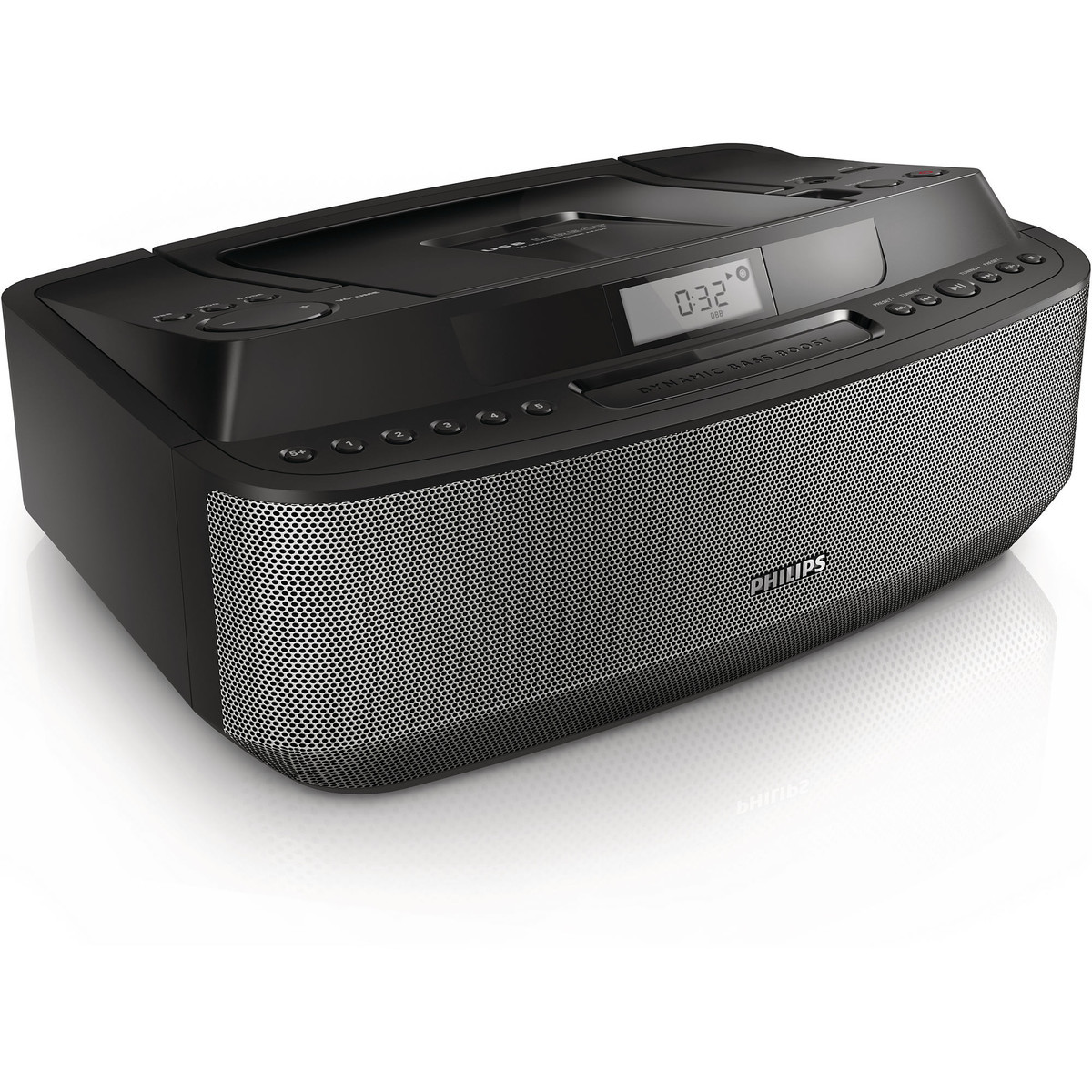 Philips Radio-cd Portabil Philips Az420 Mp3  Usb