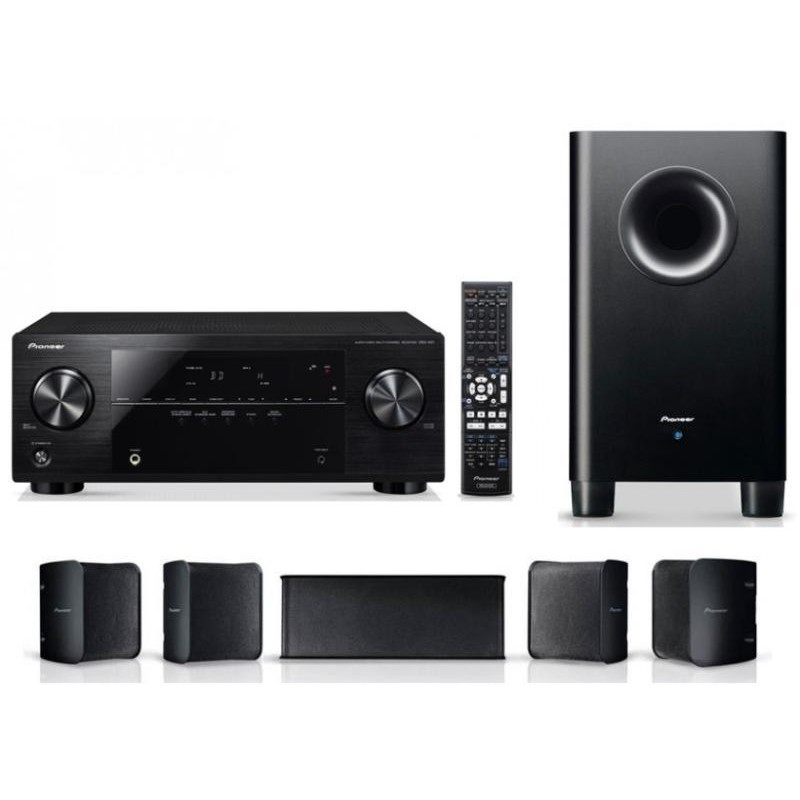 Pioneer Set Home Cinema Pioneer Htp-072 Vsx-324 Amplificator  Subwoofer S-21p  Set Boxe S-11