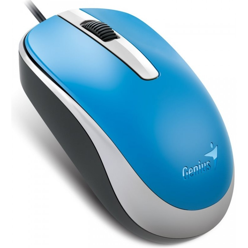 Genius Genius Optical Wired Mouse Dx-120  Blue