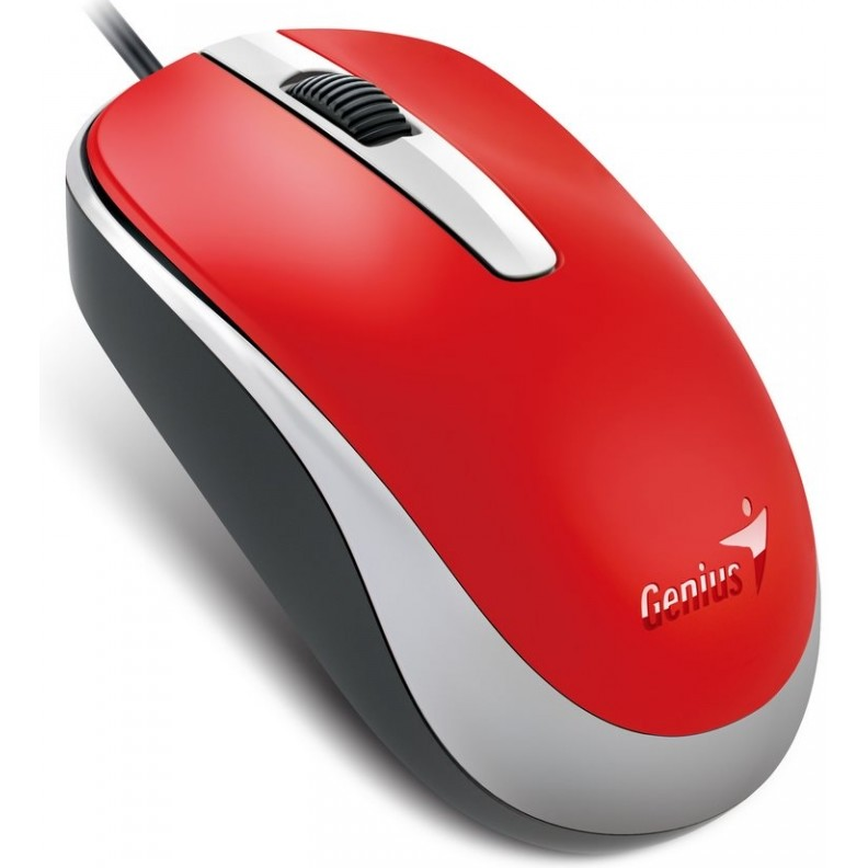 Genius Genius Optical Wired Mouse Dx-120  Red