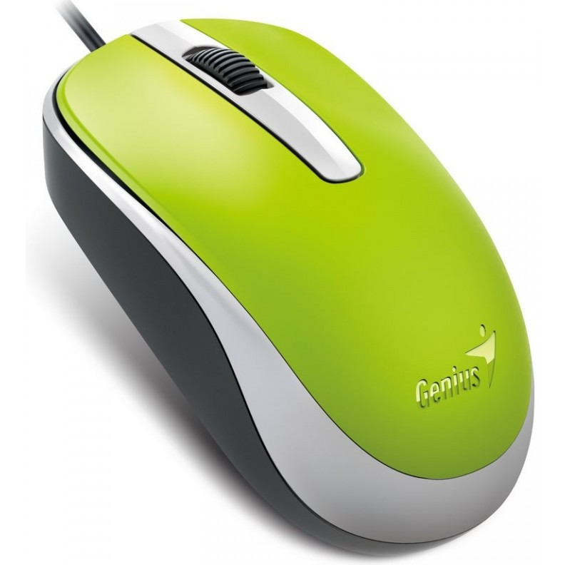 Genius Genius Optical Wired Mouse Dx-120  Green