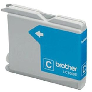 Brother Cerneala Brother Lc1000c Cyan | 400pgs | D