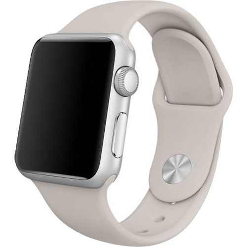 Apple Curea Sport Gri Stone Pin Otel Inoxidabil Apple Watch 38mm