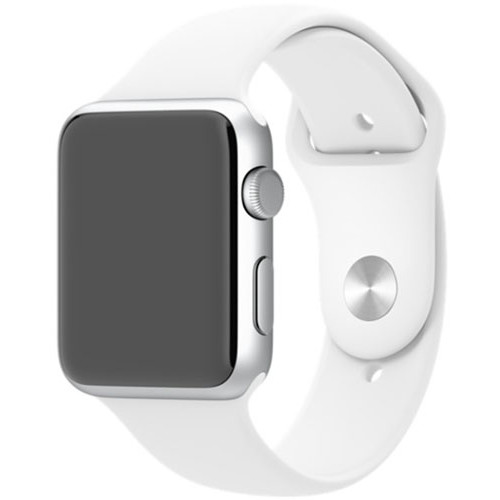 Apple Curea Sport Alba Xl Pin Otel Inoxidabil Apple Watch 42mm