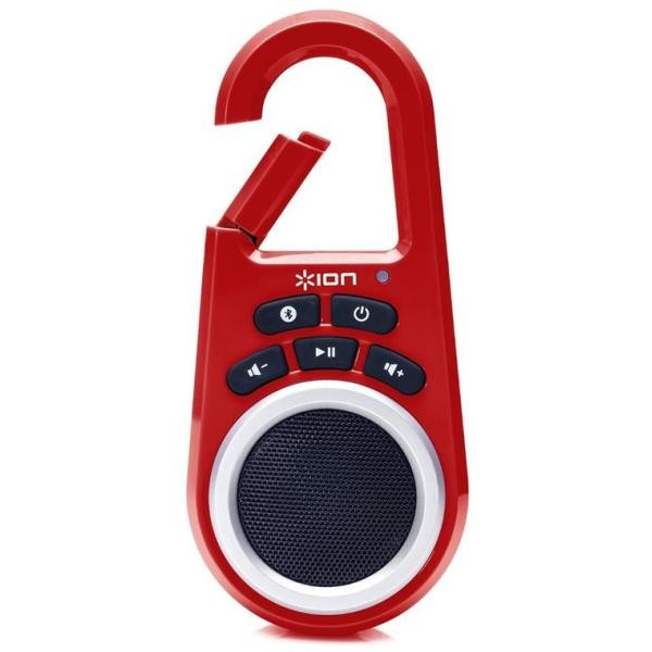 Ion Bluetooth Speaker Ion Clipster Red