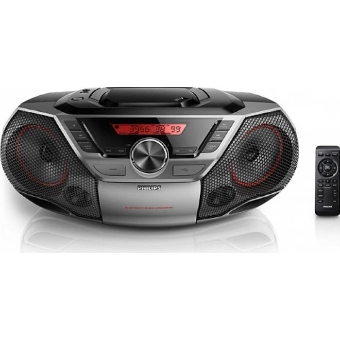 Philips Microsistem Audio  Philips Az700t/12  Bluetooth  Nfc  12w  Negru