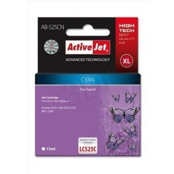Action Ink Activejet Ab-525cn | Cyan | 15 Ml | Bro