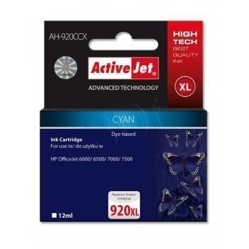 Action Ink Activejet Ah-920ccx | Cyan | 12 Ml | Hp