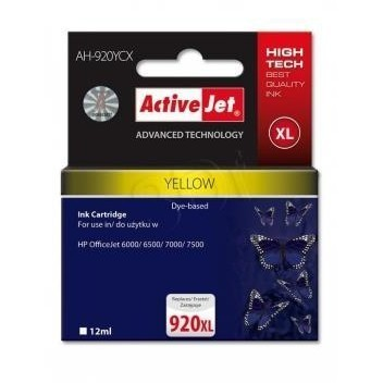 Action Ink Activejet Ah-920ycx | Yellow | 12 Ml |
