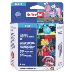 Action Ink Activejet Ah-836 | Cyan | 35 Ml | Refil