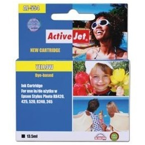 Action Ink Activejet Ae-554   Yellow   13 5 Ml   C
