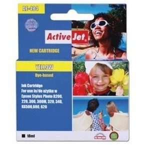 Action Ink Activejet Ae-484   Yellow   18 Ml   Chi
