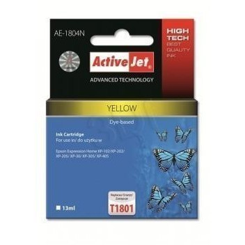 Action Ink Activejet Ae-1804n | Yellow | 13 Ml | E