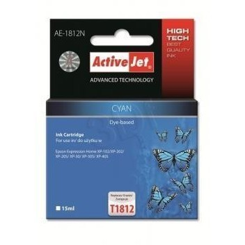 Action Ink Activejet Ae-1812n | Cyan | 15 Ml | Eps