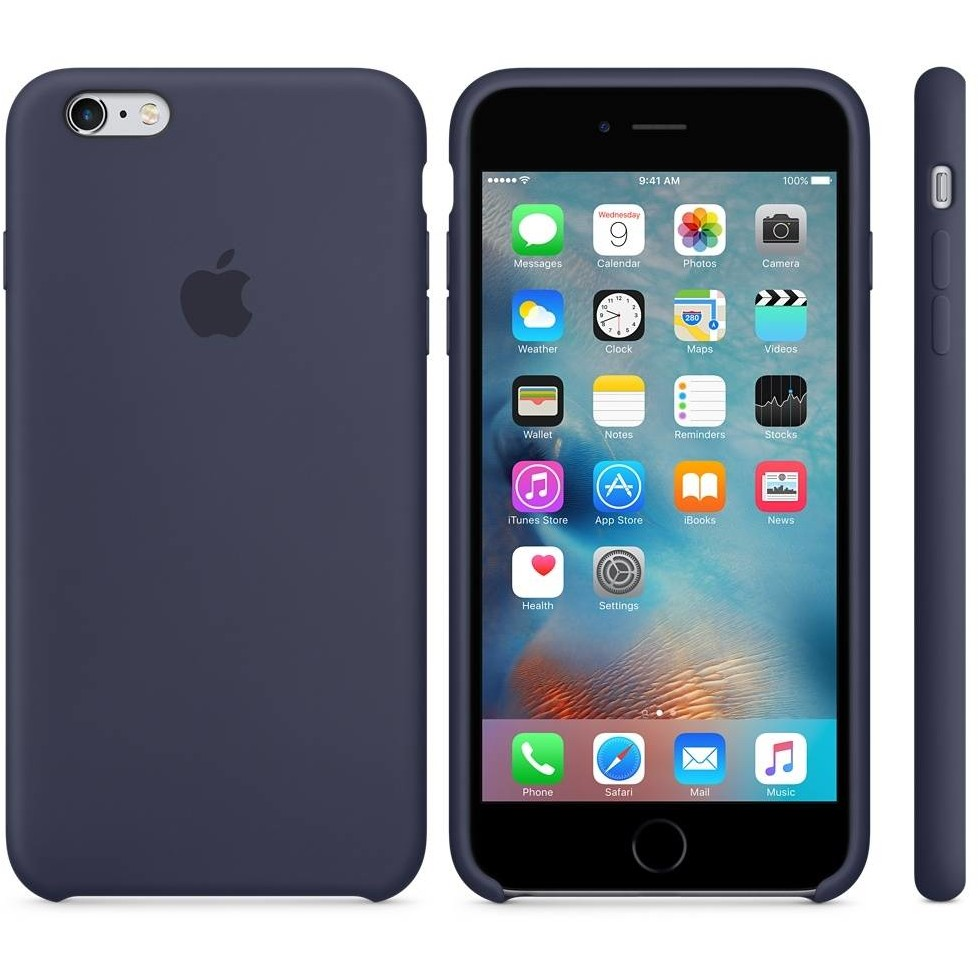 Apple Apple Iphone 6s Silicone Case Midnight Blue