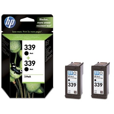 Hp Cartus Hp C9504ee  2 Buc. Hp 339 Patron (c8767e