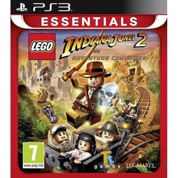 Disney Joc Software Lego Indiana Jones 2 Essentials Ps3