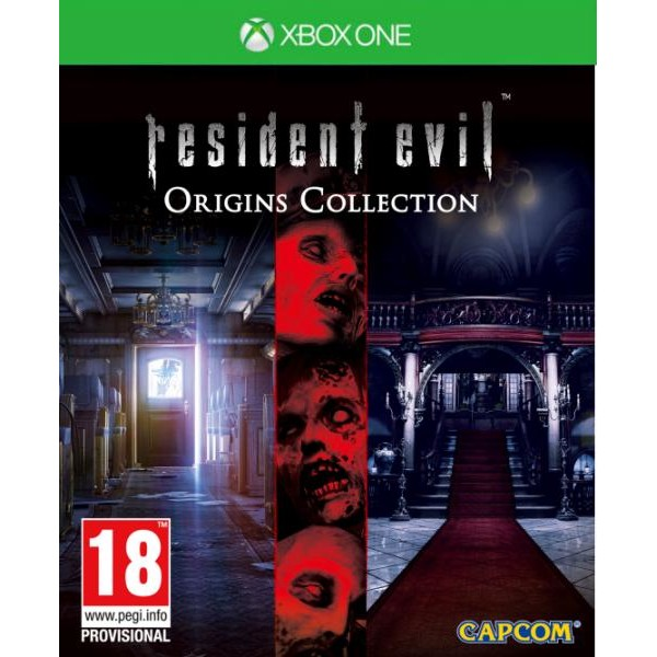 Capcom Joc Software Resident Evil Origins Collecti